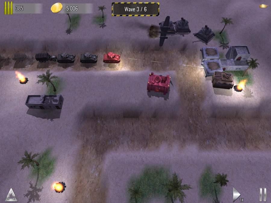 塔防帝国 - 二战坦克塔防单机游戏截图7