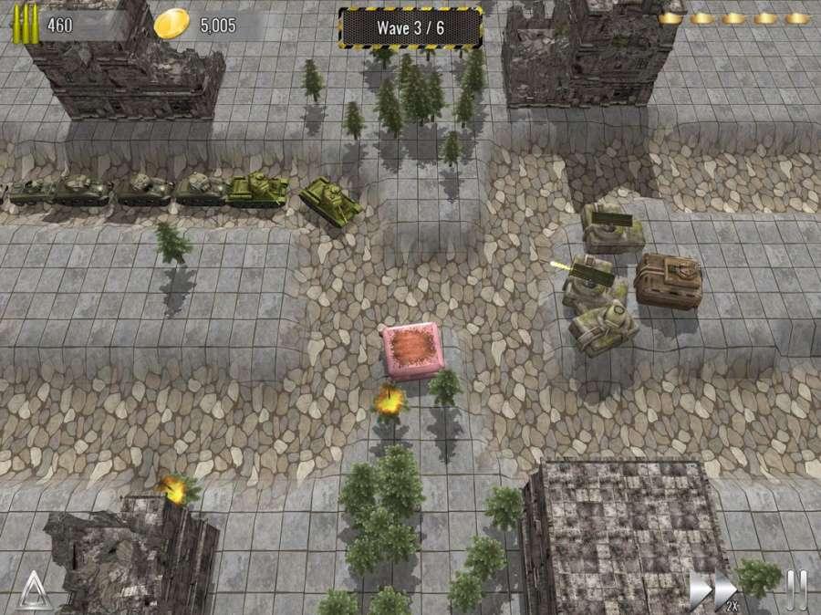 塔防帝国 - 二战坦克塔防单机游戏截图8