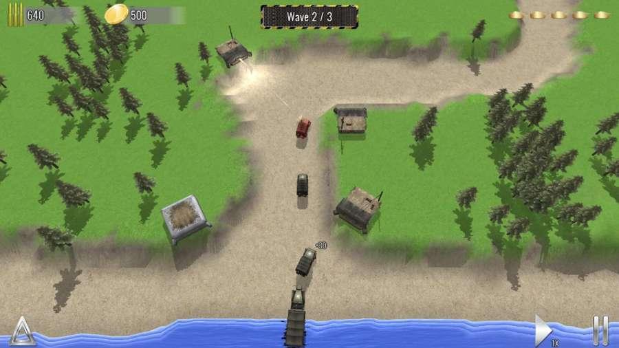 塔防帝国 - 二战坦克塔防单机游戏截图9