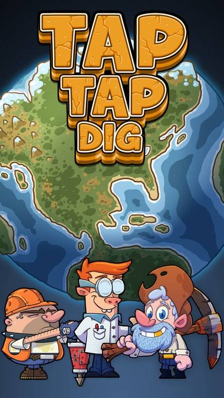 Tap Tap Dig - Idle Clicker Game截图0