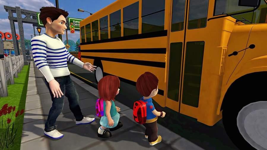 虚拟世界爸爸:幸福的家庭模拟器截图1