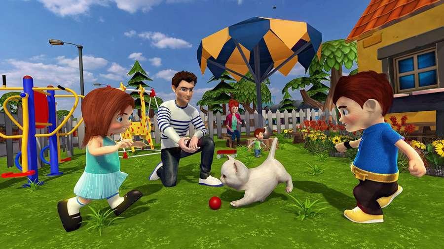 虚拟世界爸爸:幸福的家庭模拟器截图2