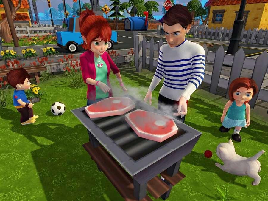 虚拟世界爸爸:幸福的家庭模拟器截图3