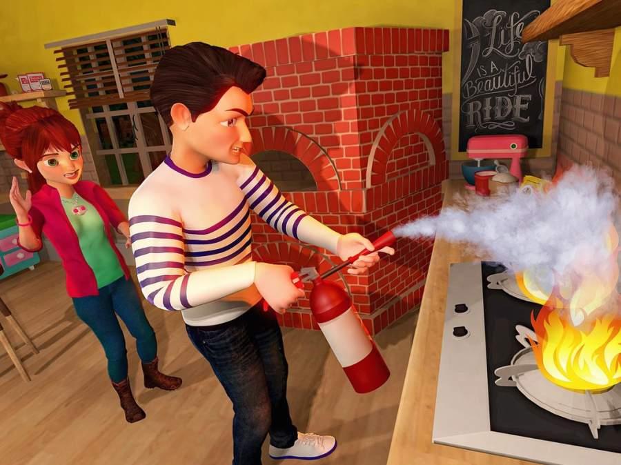 虚拟世界爸爸:幸福的家庭模拟器截图4