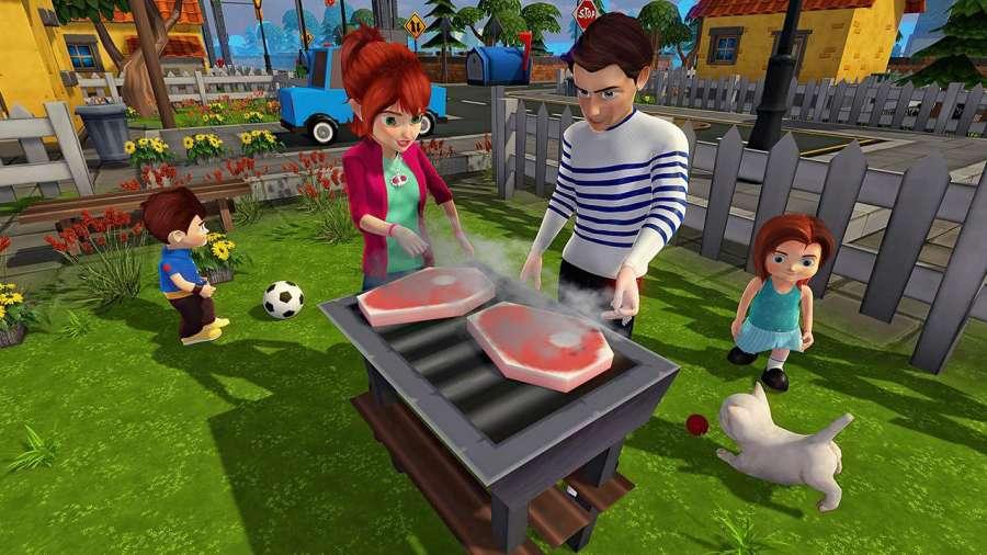 虚拟世界爸爸:幸福的家庭模拟器截图6