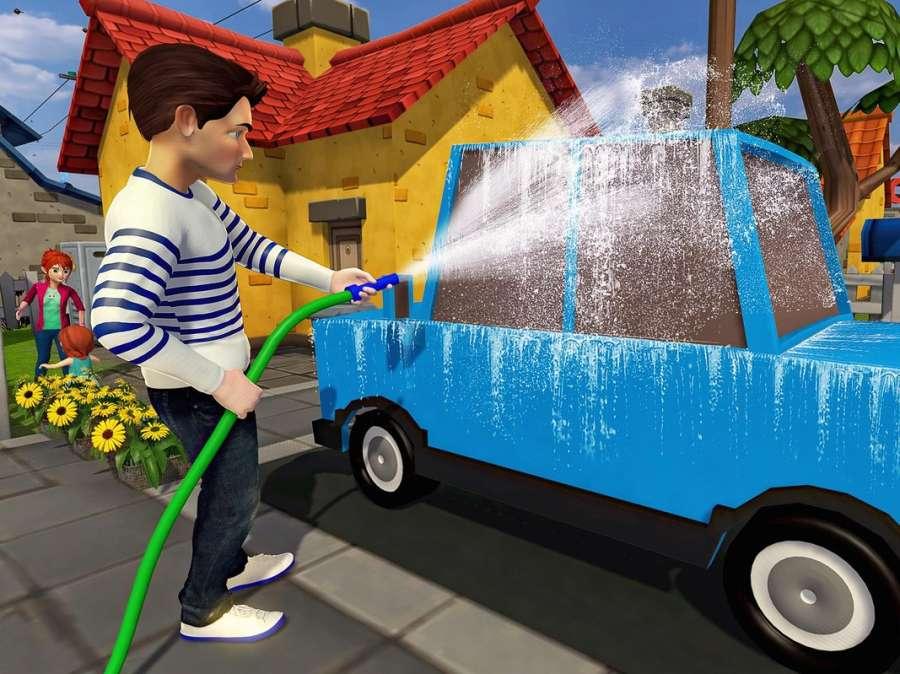 虚拟世界爸爸:幸福的家庭模拟器截图7