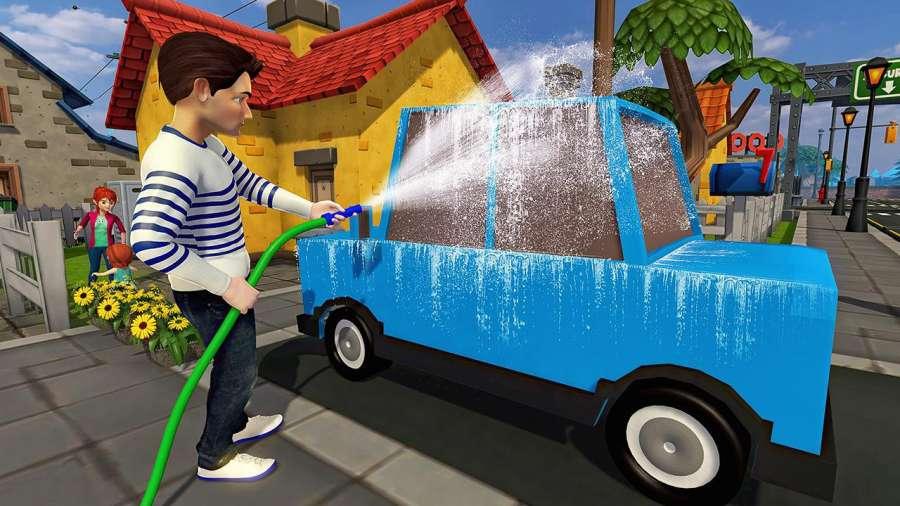 虚拟世界爸爸:幸福的家庭模拟器截图8
