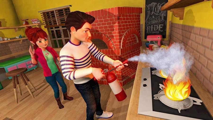 虚拟世界爸爸:幸福的家庭模拟器截图9