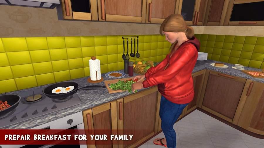 虚拟家庭怀孕的妈妈:幸福的家庭游戏截图3