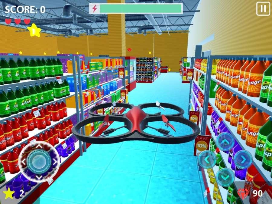 RC Drone Flight Simulator 3D截图3