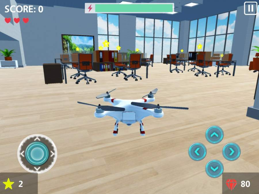 RC Drone Flight Simulator 3D截图7