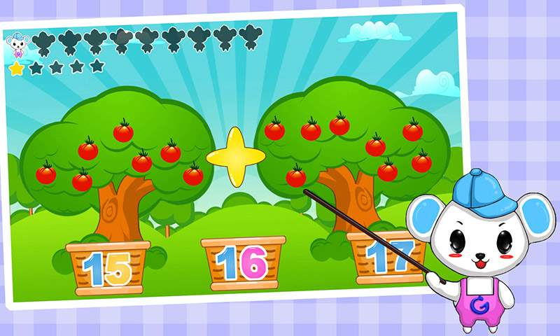 儿童益智数学游戏截图3