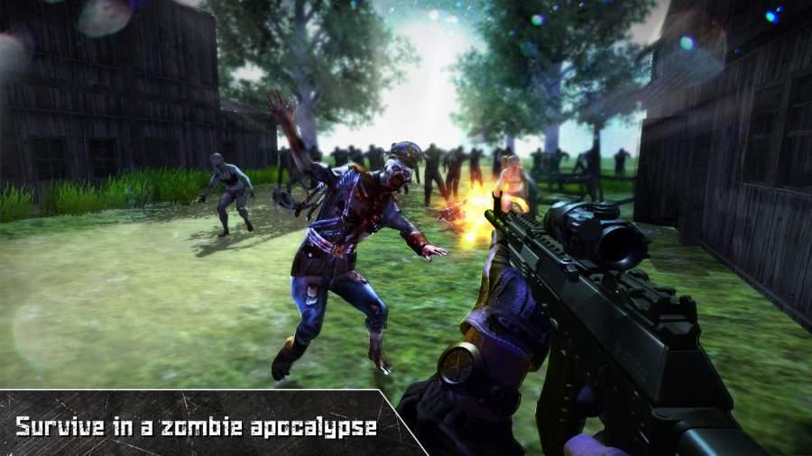 最后死亡之日:僵尸狙击手截图0