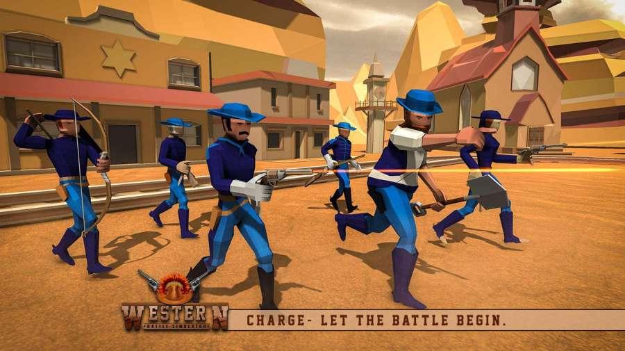 最终的战斗模拟器牛仔史诗般的战斗截图1