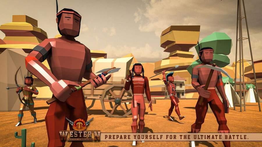 最终的战斗模拟器牛仔史诗般的战斗截图2
