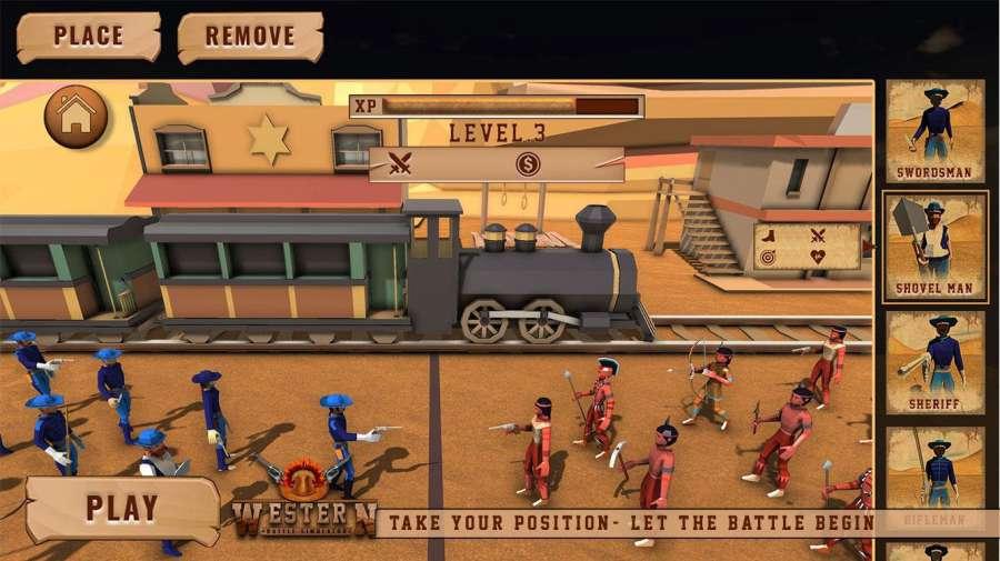 最终的战斗模拟器牛仔史诗般的战斗截图3