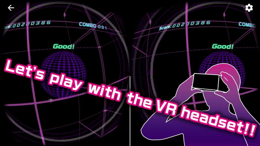 FuluBeatVR - Free Music Rhythm VR-Game截图1