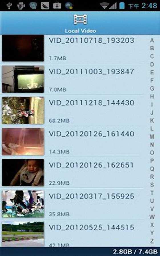 高清视频播放器截图2