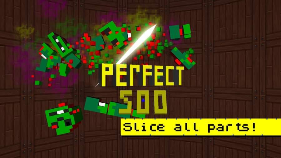 Zombie Slicer Ninja Craft截图6
