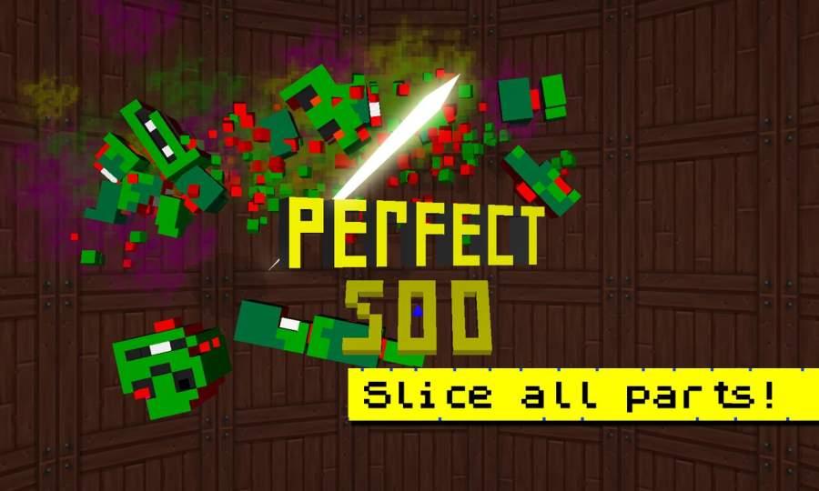 Zombie Slicer Ninja Craft截图7