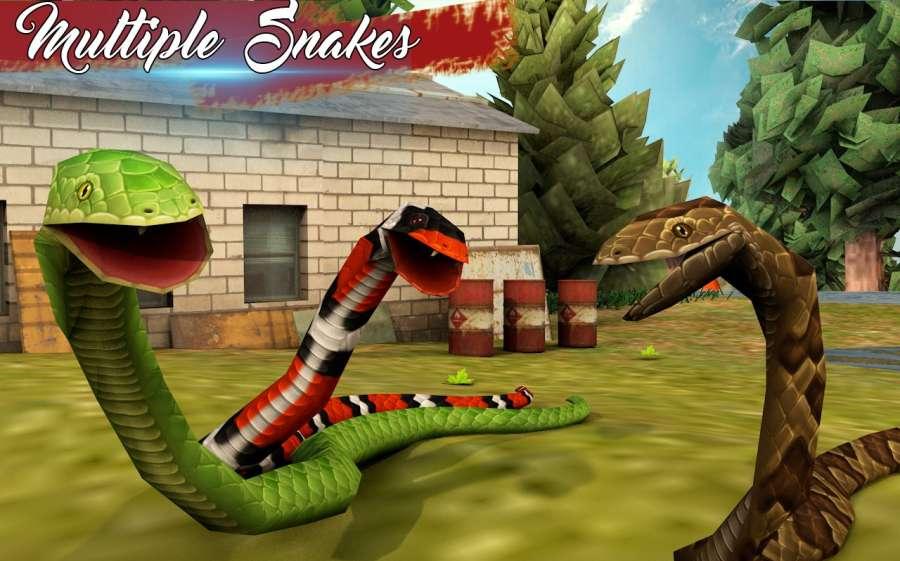 蛇模拟器2018年蟒蛇攻击:蛇追逐截图4