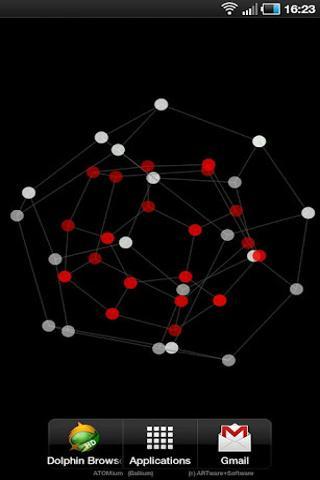 原子球3D免费LWP截图3