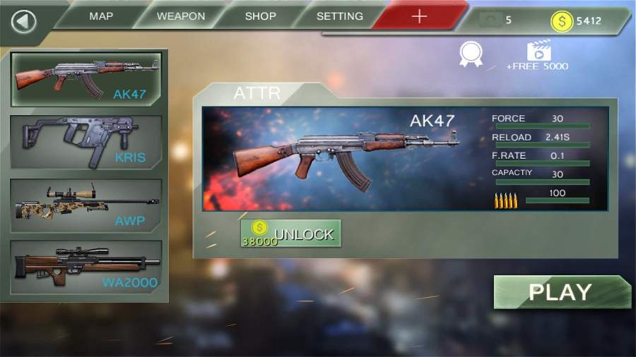 Counter Shoot Fire-FPS Terrorist Strike截图2