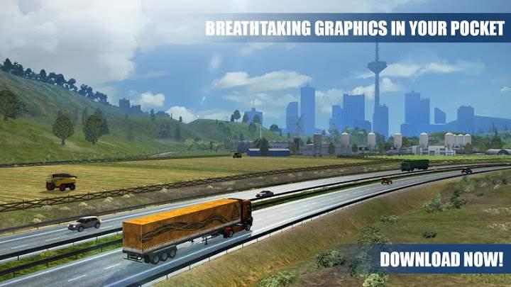 欧洲重卡车模拟截图3
