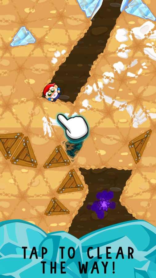 侏儒的冒险-疯狂拼图矿工截图2