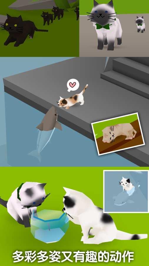 猫猫与鲨鱼截图4