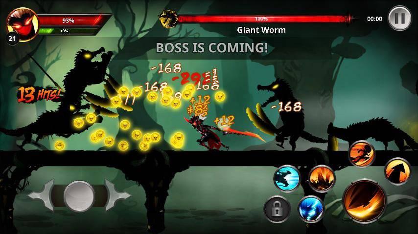 Stickman Warrior: League of Shadow Fighter - RPG