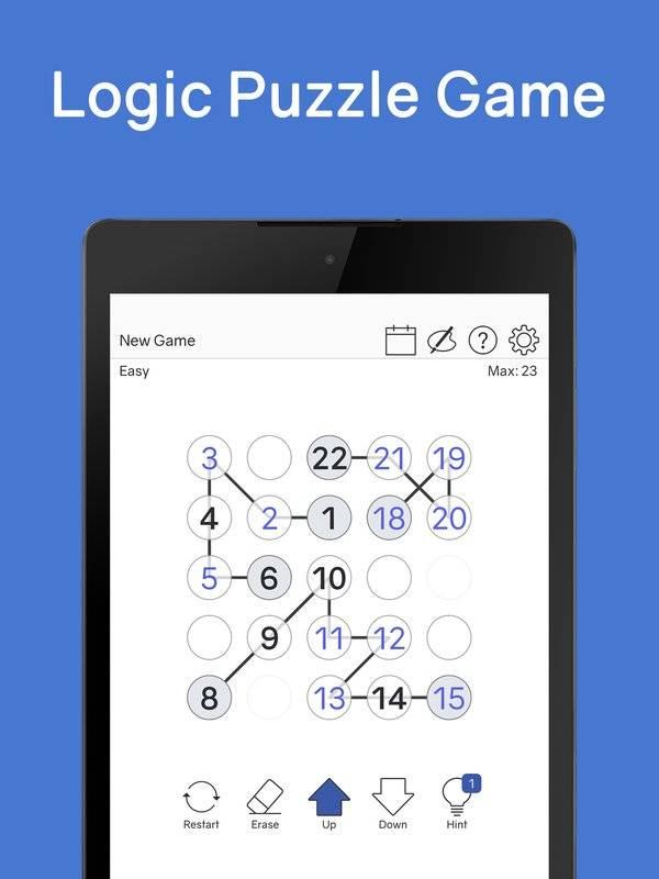 Number Chain - Logic Puzzle截图2