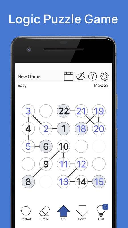 Number Chain - Logic Puzzle截图4