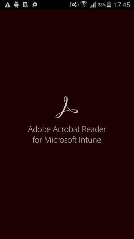 Acrobat Reader for Intune截图0