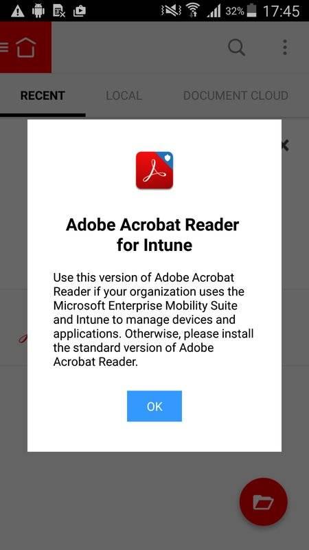 Acrobat Reader for Intune截图4