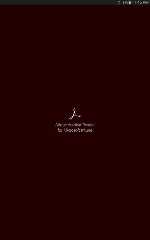 Acrobat Reader for Intune截图5