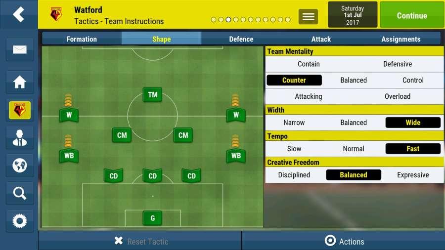 足球经理移动版截图1