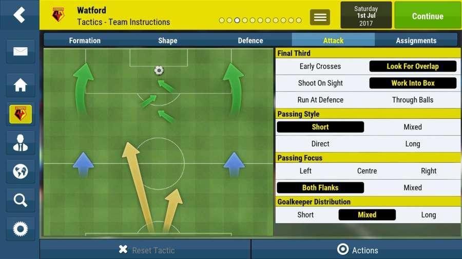 足球经理移动版截图3