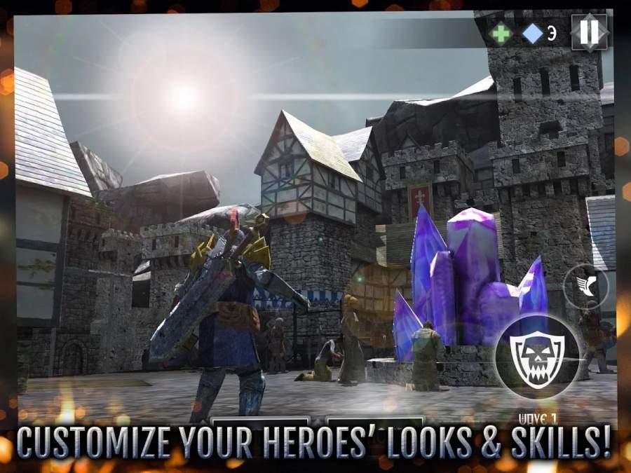 英雄城堡2 高通版截图1