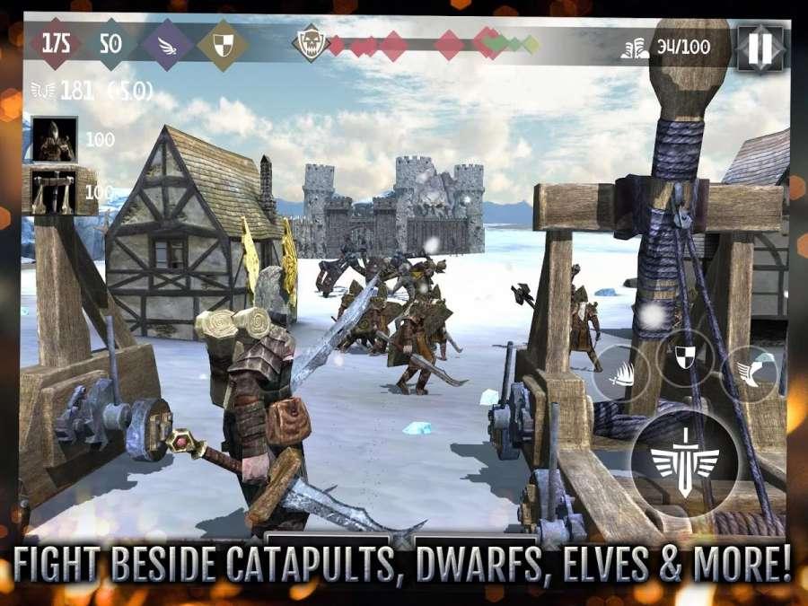 英雄城堡2 高通版截图2