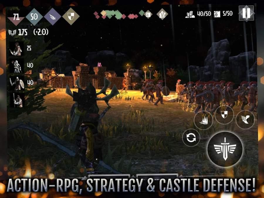 英雄城堡2 高通版截图3