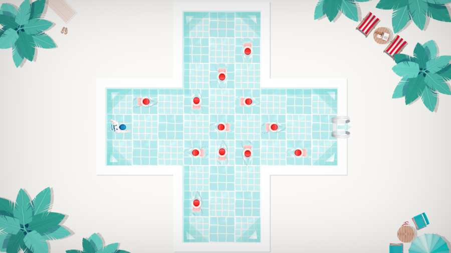 泳池逃生截图2
