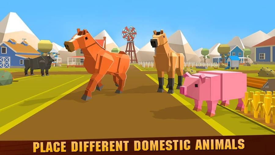 宠物动物农场建筑工艺截图1