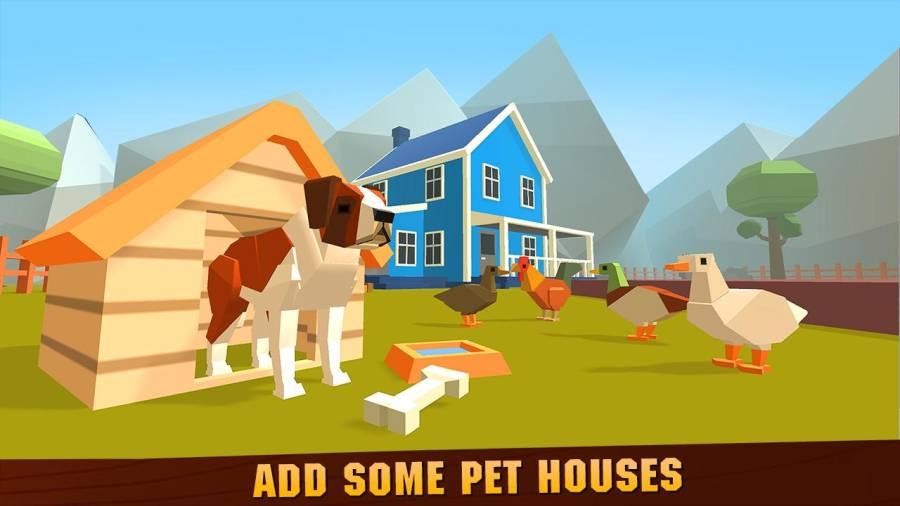 宠物动物农场建筑工艺截图2