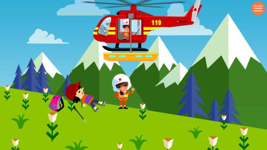 宝宝开消防直升机截图2