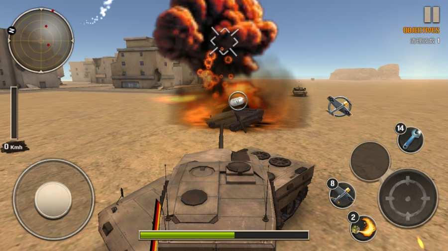 现代坦克力量:战争英雄截图4