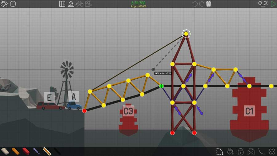 桥梁构造者截图0