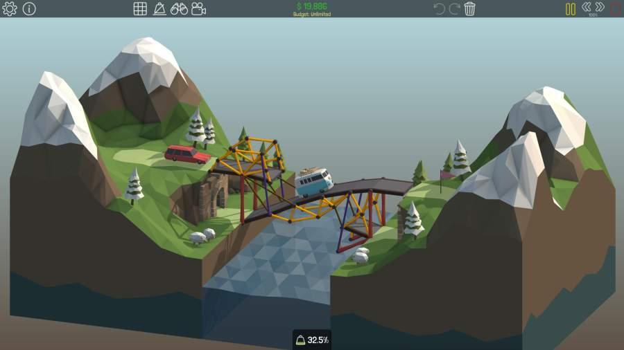 桥梁构造者截图2