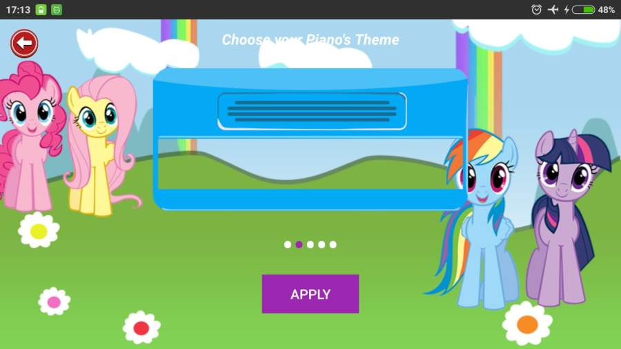 Little Pony Piano - Rainbow Dash截图1