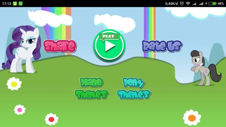 Little Pony Piano - Rainbow Dash截图4
